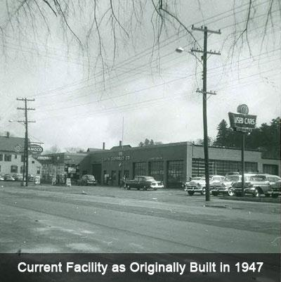 Current Facility as Originally Built in 1947