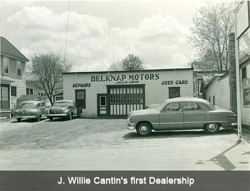 J. Willie Cantin's first Dealership