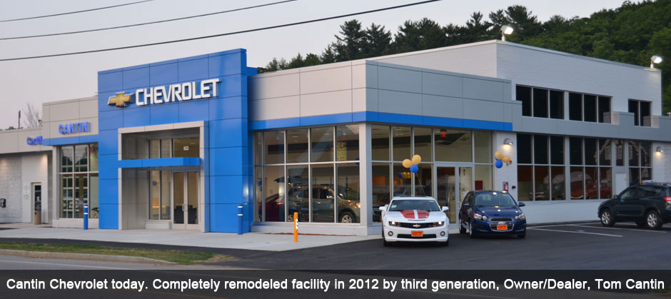 Cantin Chevrolet Today, Remodeled in 2012
