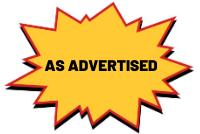 As Advertised