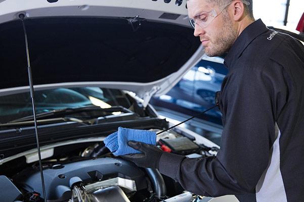Oil Change Service Technician