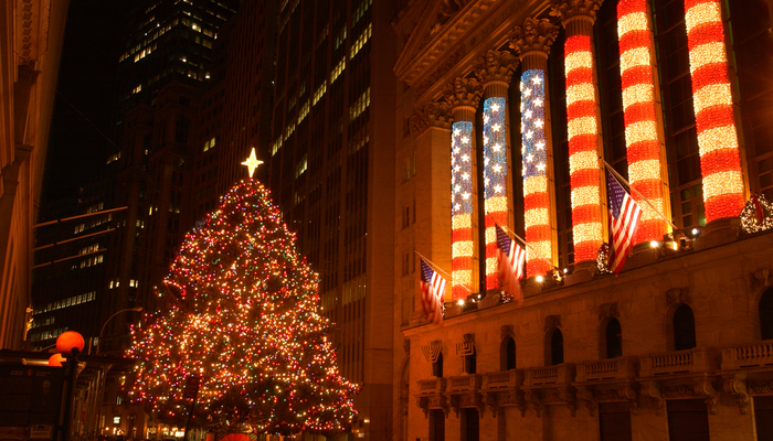 Santa is coming to Wall Street