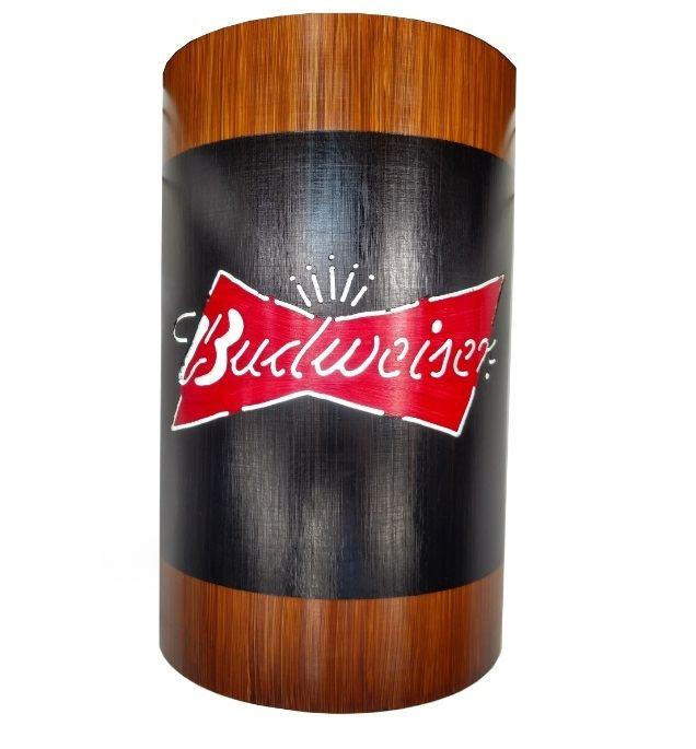 Arandela Luminária Bar Gourmet Coca Cola ou Cerveja Budweiser