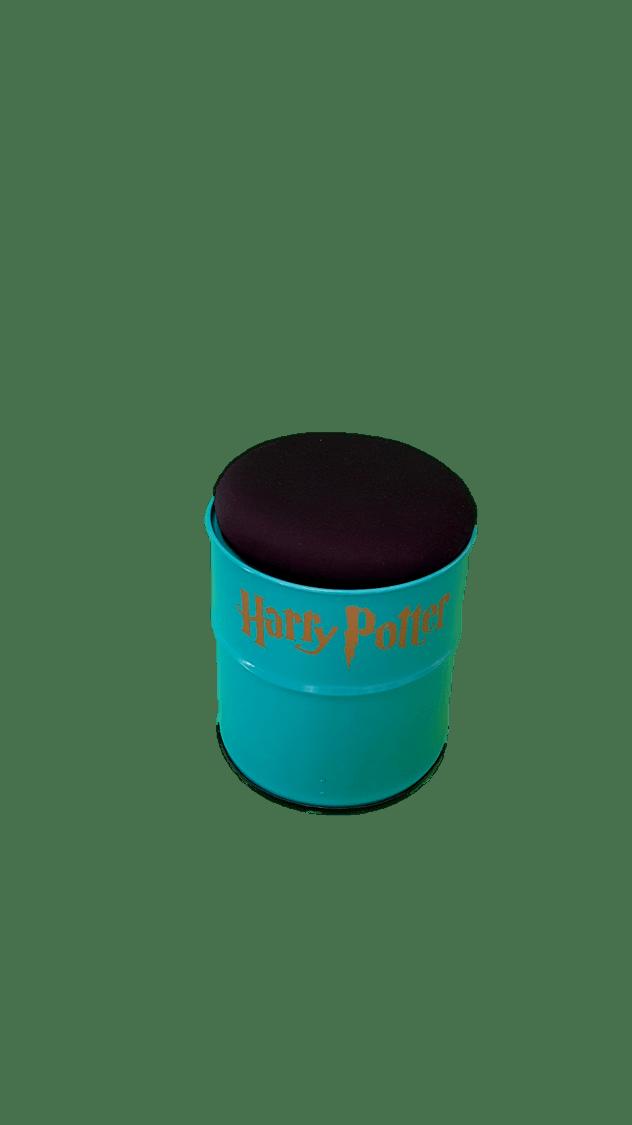 Banco de Tambor Harry Potter Cor Tiffany - Funciona como Baú