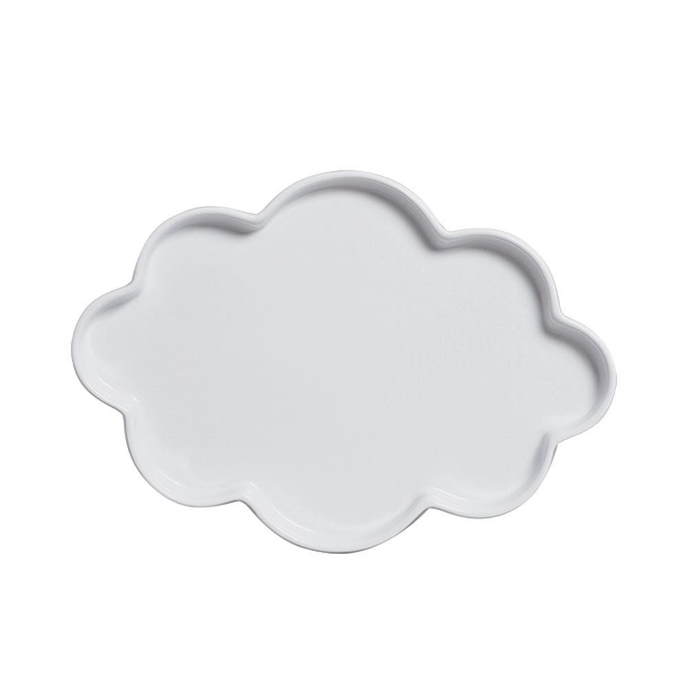 Bandeja Nuvem Sem Pé Branca
