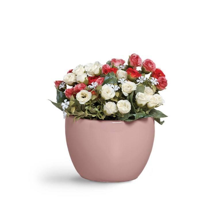 Cachepô Pequeno Rose