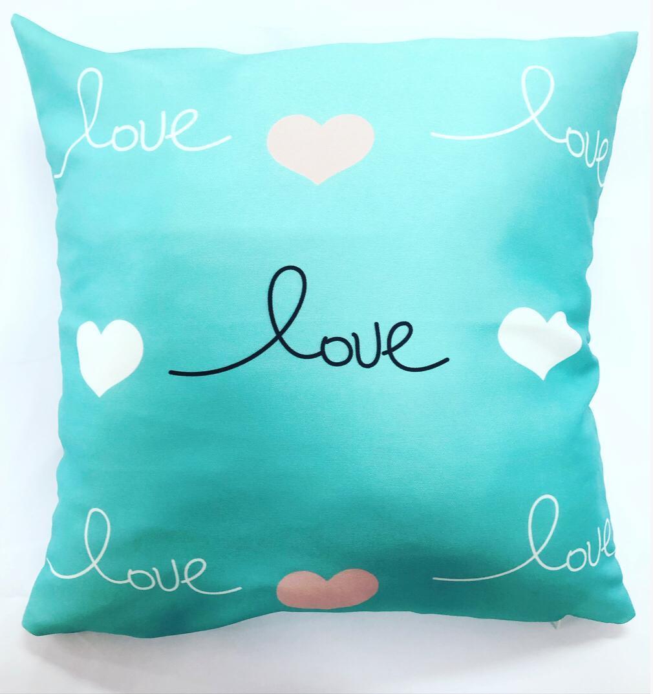 Almofada Love (Verde)