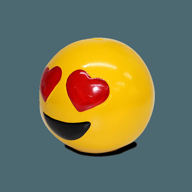 Cofre Emoji Cerâmica (Coração)