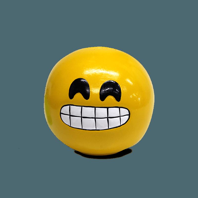 Cofre Emoji Cerâmica (Dentes)