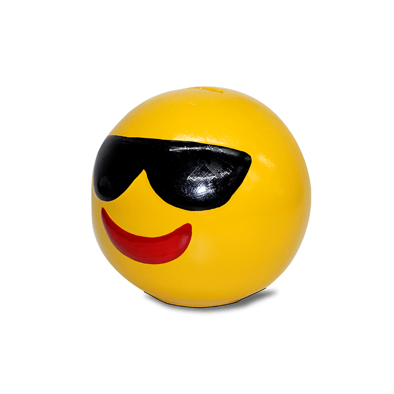 Cofre Emoji Cerâmica (Oculos)