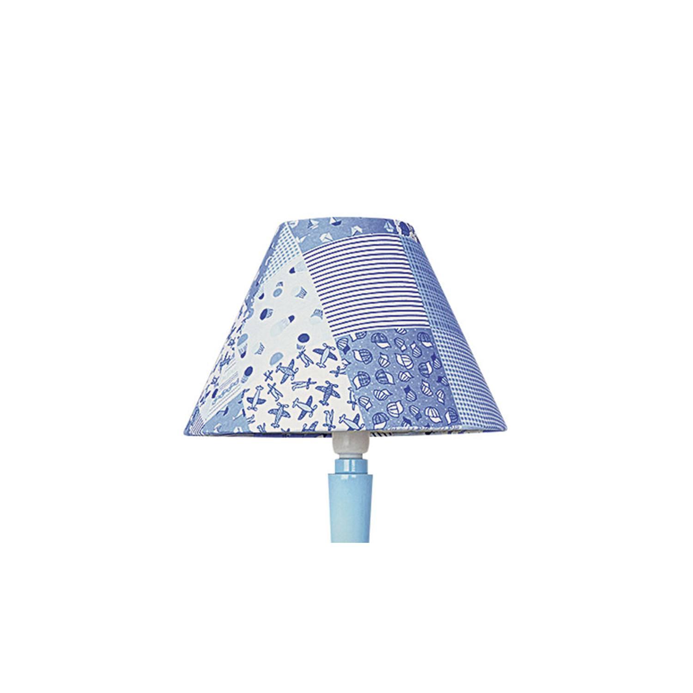 Cúpula 10X25 Cônica Tecido Infantil Patchwork Azul Bebe
