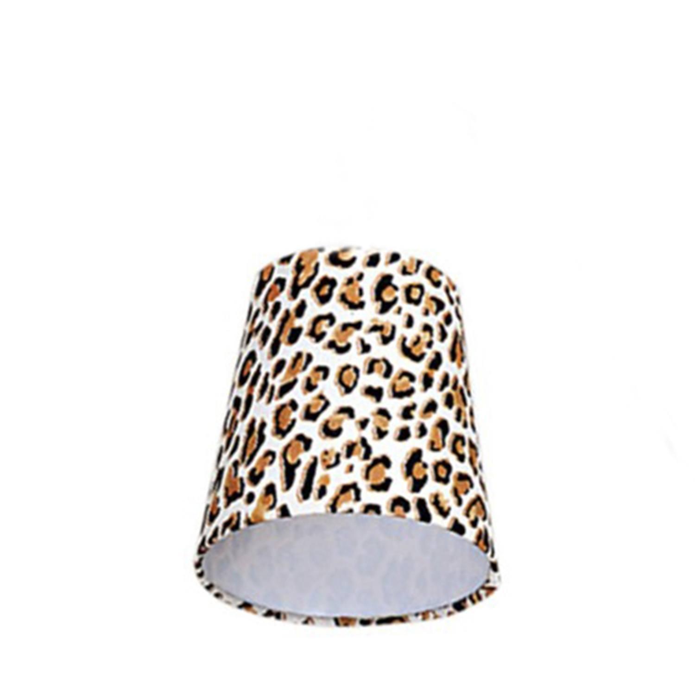 Cúpula Mini Cone Para Leitura Tecido Onça