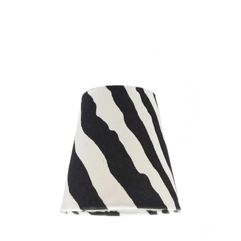 Cúpula Mini Cone Para Leitura Tecido Zebra