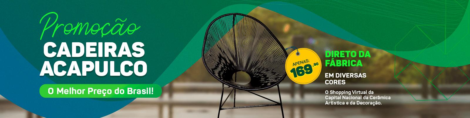 Compre Cadeiras Acapulco Direto da Fábrica Com o Melhor Preço do brasil.