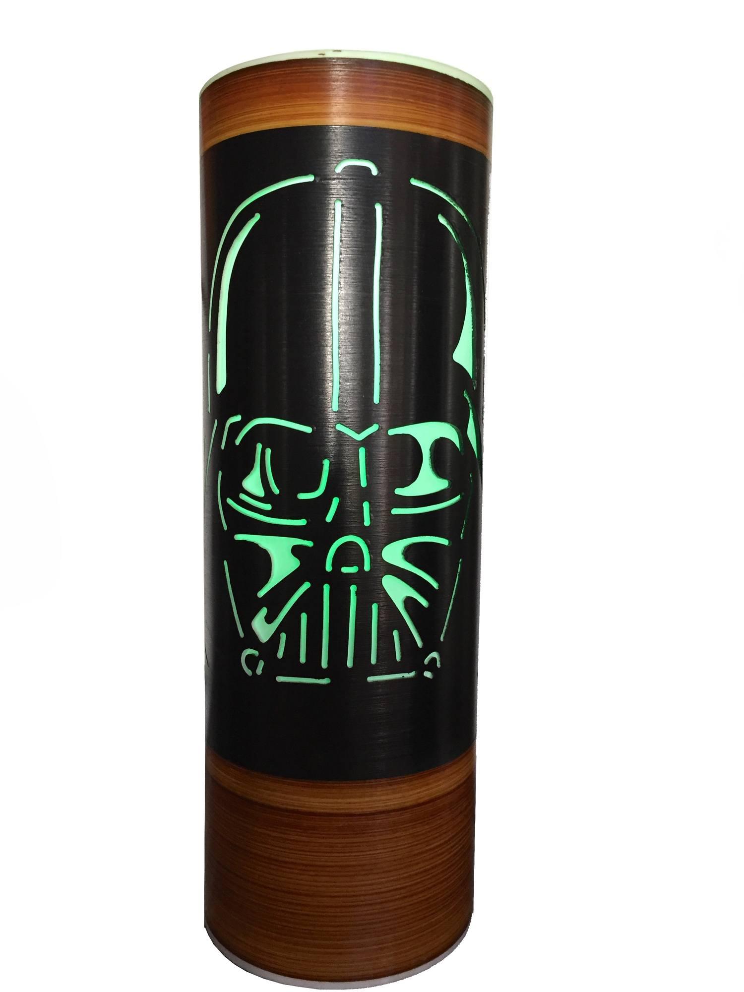 Luminária Abajur Star Wars Máscara Darth Vader