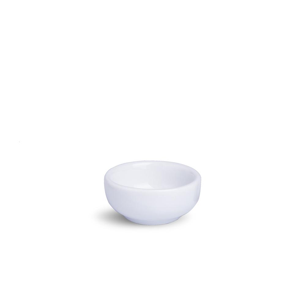 Manteigueira Galoro Branca Porcelana 6,2 x 6,2 x 3 cm