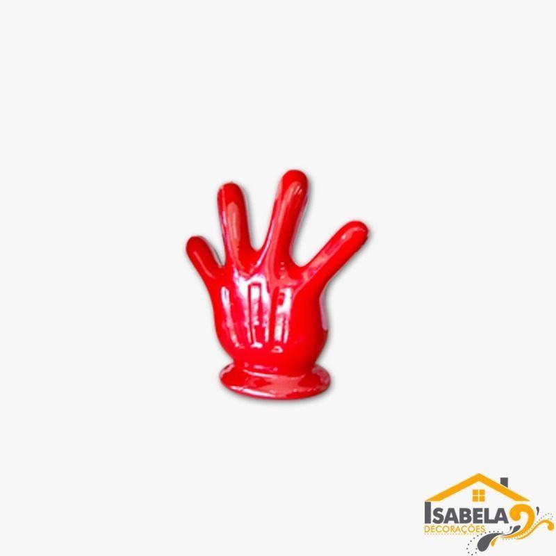 Mão Do Mickey / Minnie em Cerâmica