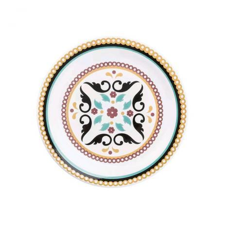 Prato de Sobremesa 20 cm Linha Luiza Oxford