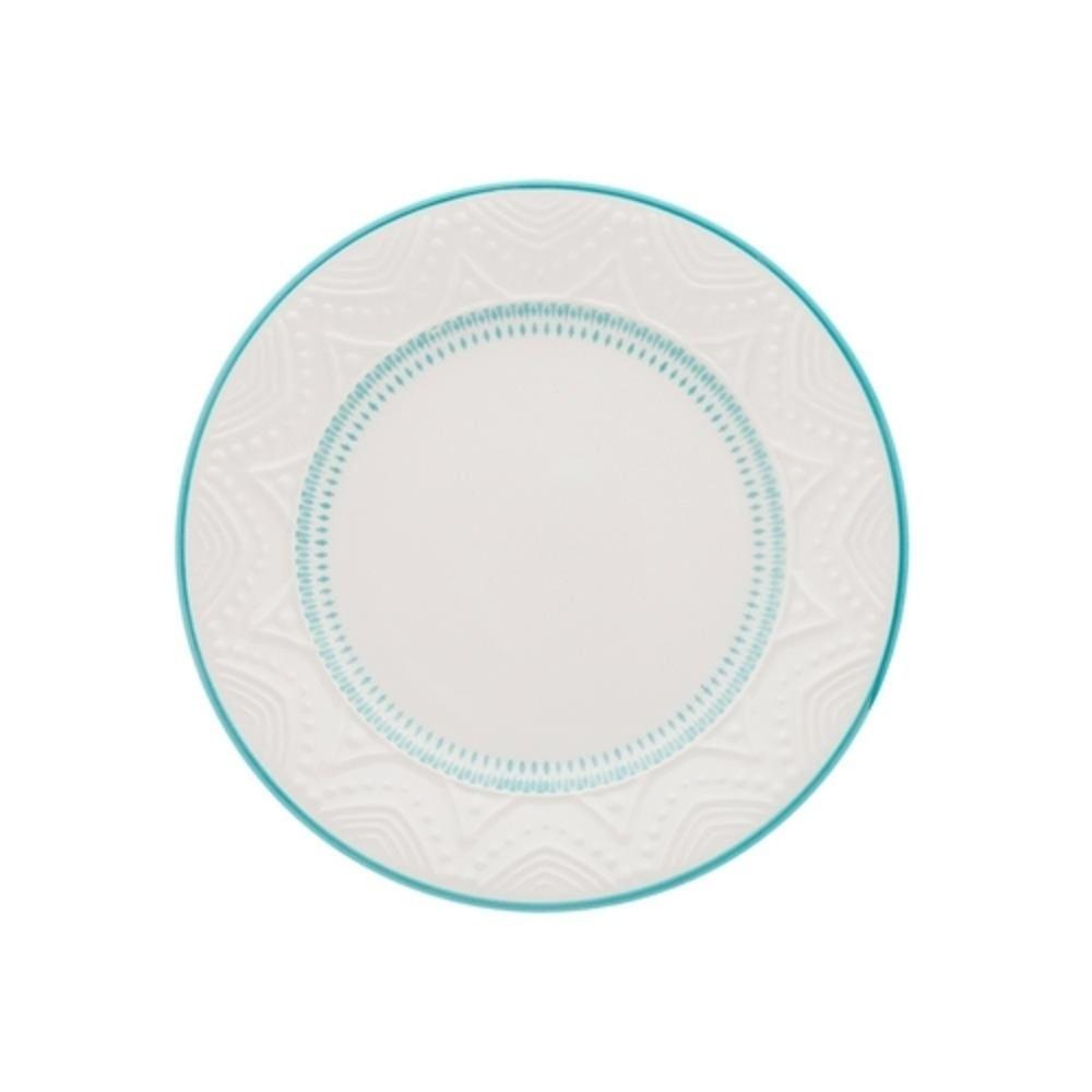 Prato de Sobremesa 20,5 cm Linha Sky Oxford