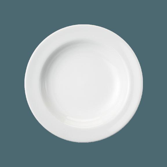 Prato Fundo 23 cm  Branco Porcelana Schmidt 2° linha