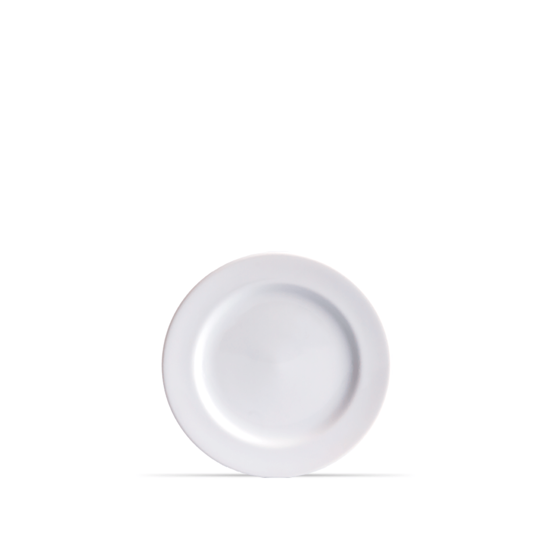 Prato Raso Circular 26 cm Branco Porcelana Schmidt 1° Linha