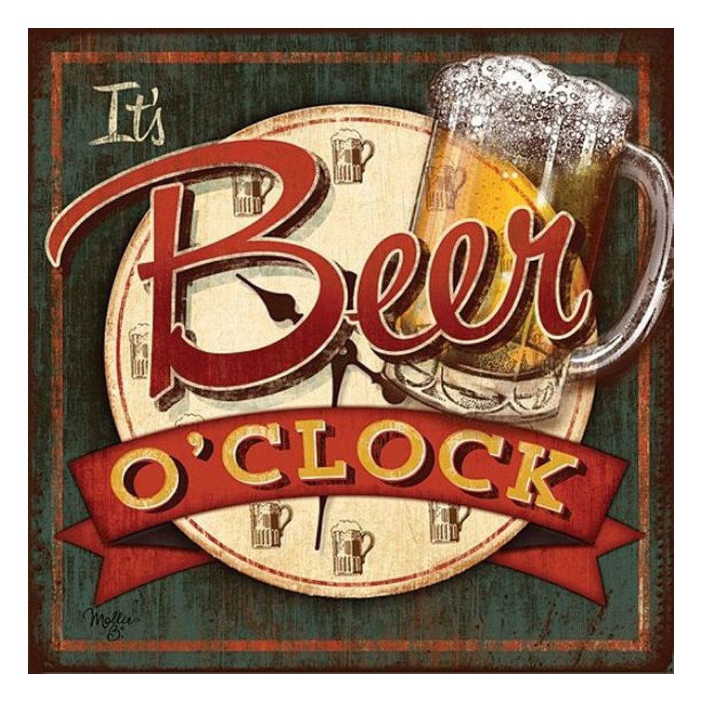 Quadro Decorativo em MDF It's Beer - 15 x 20 cm