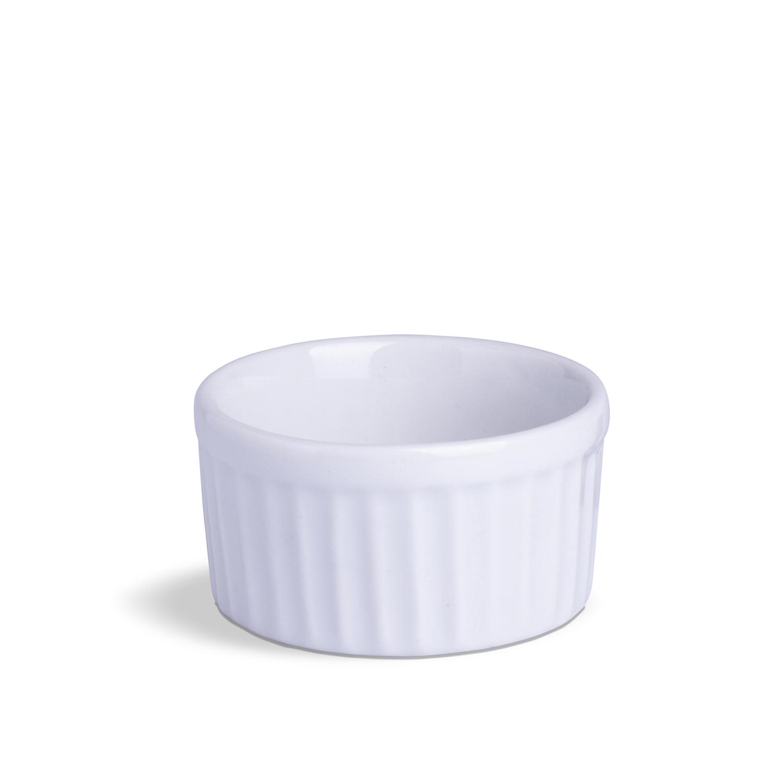 Ramekin Grande Branco Porcelana 230 mL 10 x 10 x 5,5 cm