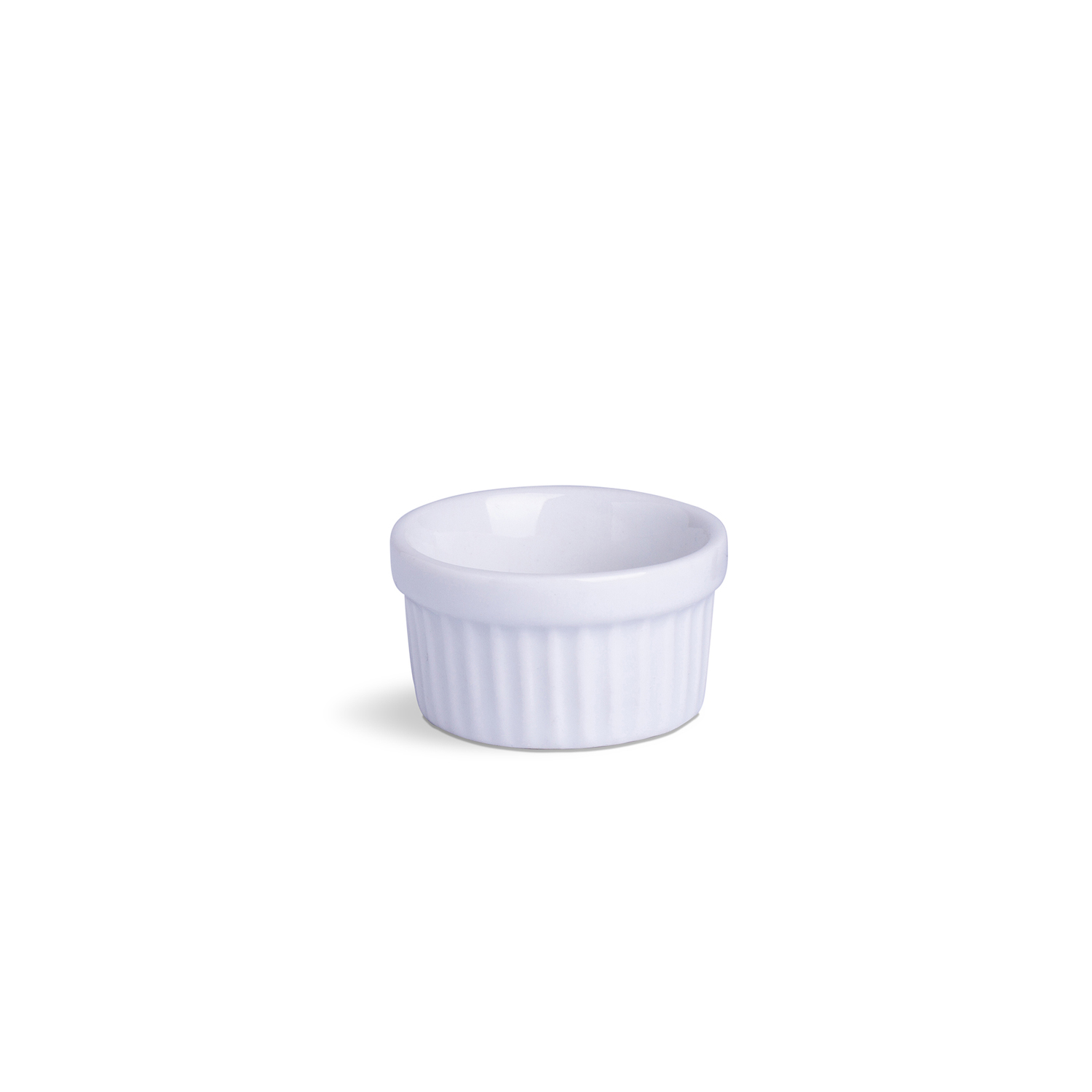 Ramekin Mini Branco Porcelana 30 mL 6 x 6 x 3,5 cm