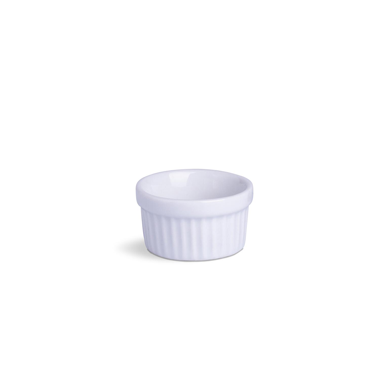 Ramekin Mini Branco Porcelana 30 mL 6 x 6 x 3,5 cm