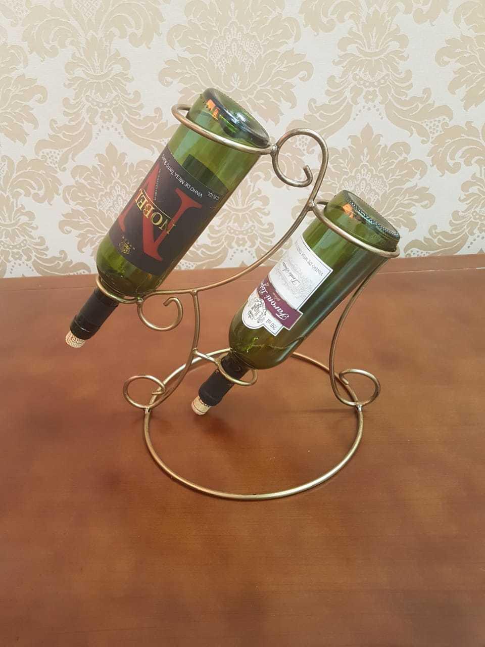 Suporte para Garrafas de vinho 2 garrafas