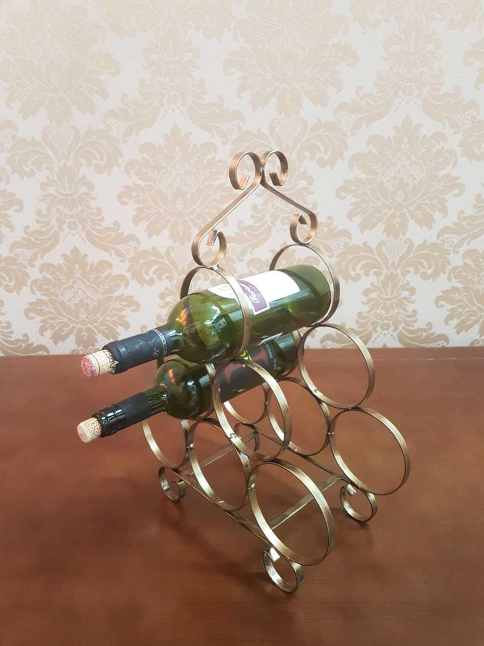 Suporte para Garrafas de vinho 6 garrafas