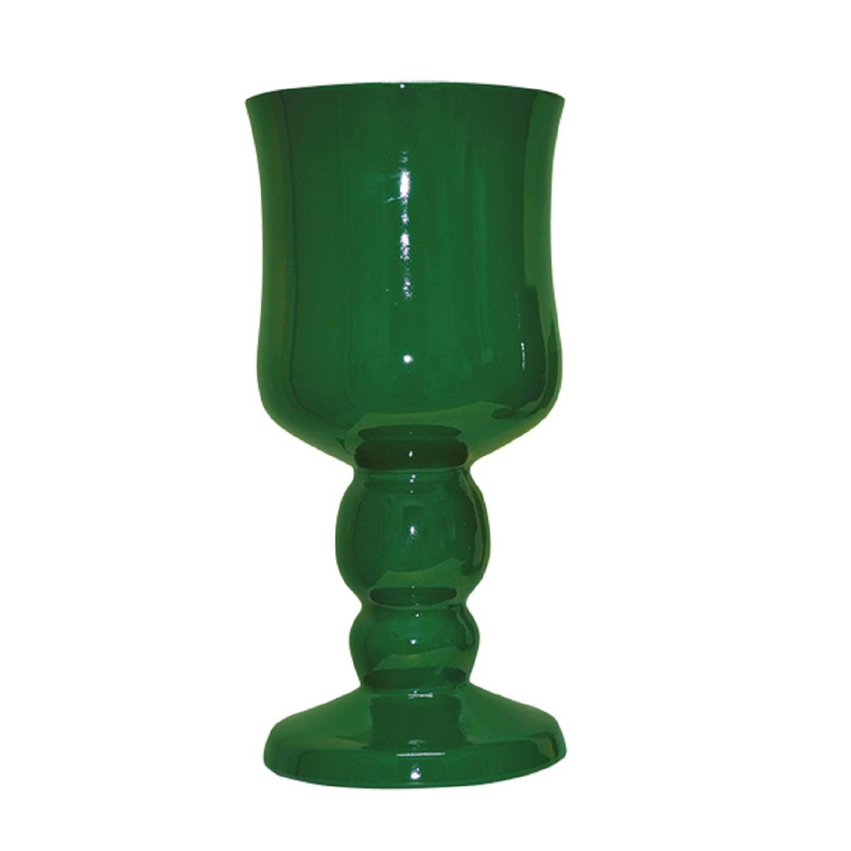 Taça Grande Em Cerâmica Verde