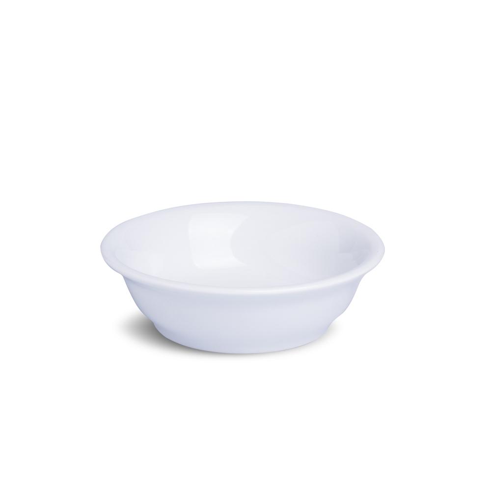 Tigela Peruana Branca Porcelana 375 mL 15,5 x 15,5 x 5 cm