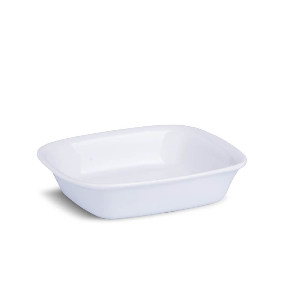 Travessa Galoro Porcelana Branca 19cm