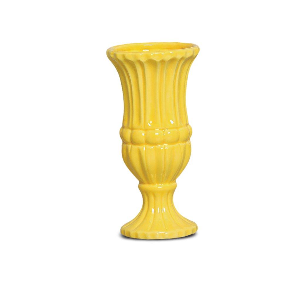 Vaso Grego Médio Amarelo