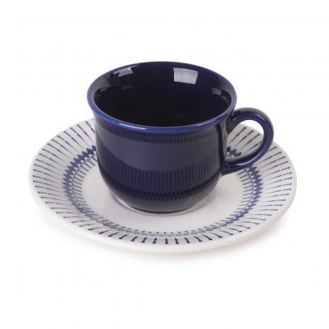 Xícara de Chá com Pires Linha Colb Oxford