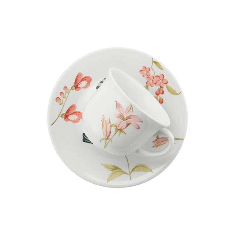 Xícara de Chá 200ml Flores Linha May Oxford