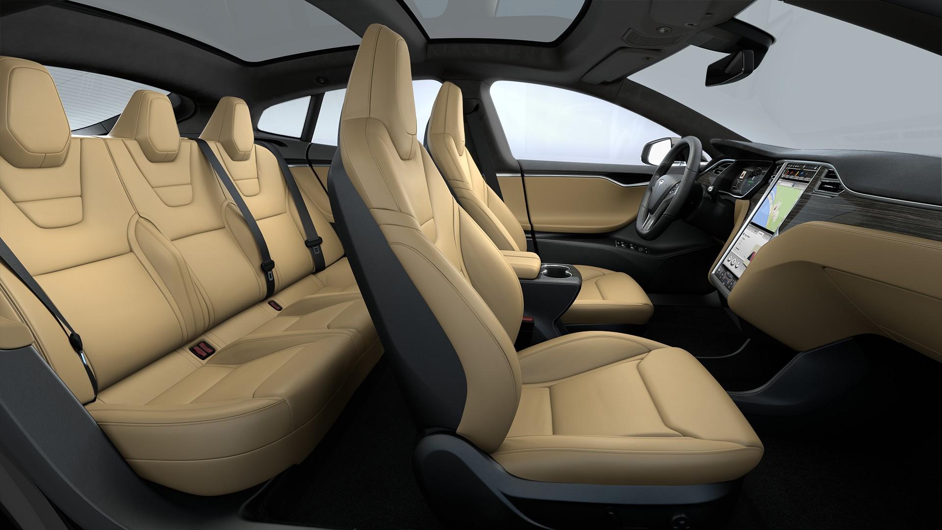 Interieur Extended Nappa Leather Trim Black Alcantara Headliner Alcantara Dashboard Accents