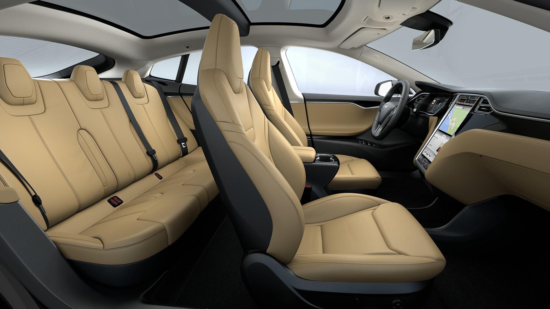 Interieur Matte Obeche Wood Decor Tan Next Generation Seats Standard Textile Headliner
