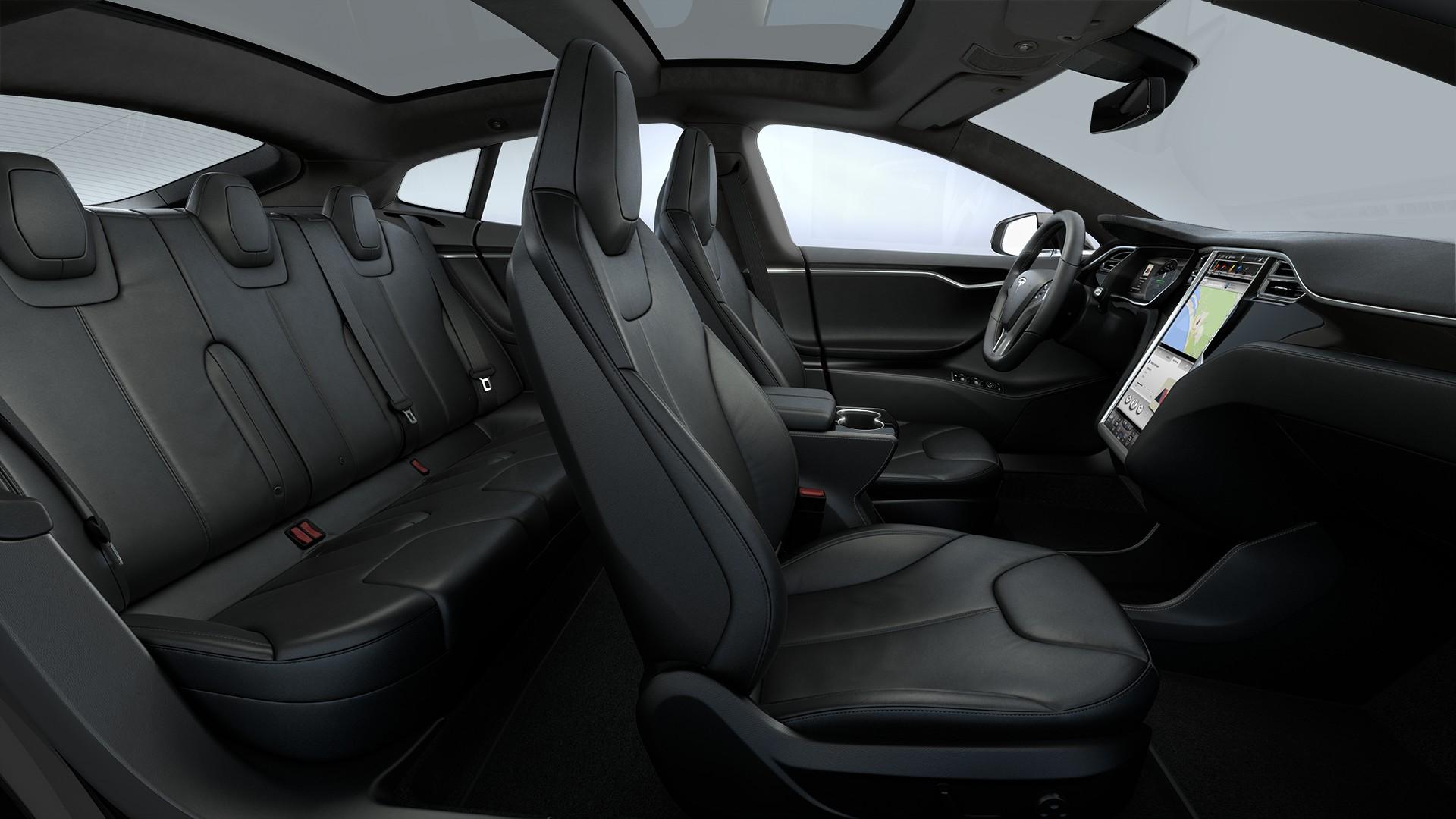 Interieur Black Nappa Leather Seats Piano Black Decor Black Alcantara Headliner Alcantara Dashboard Accents