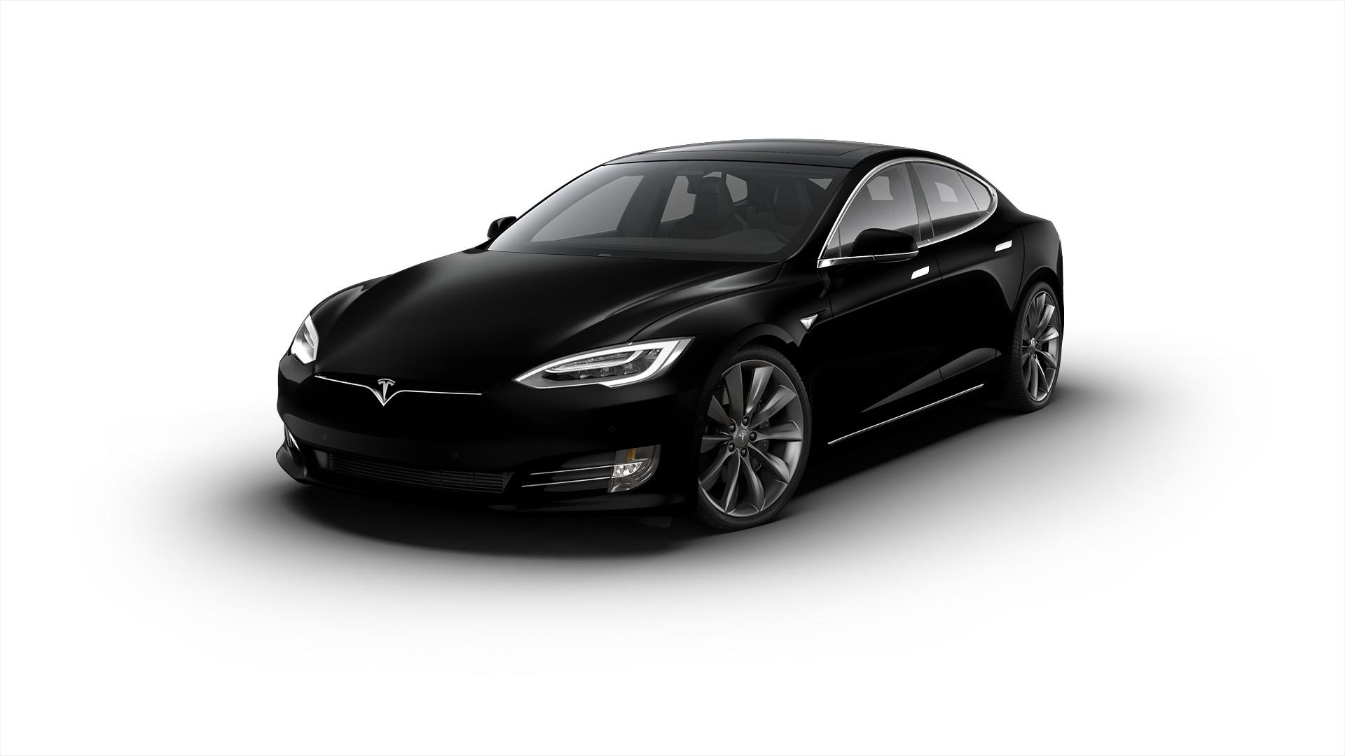 tesla model s 75d Solid Black
