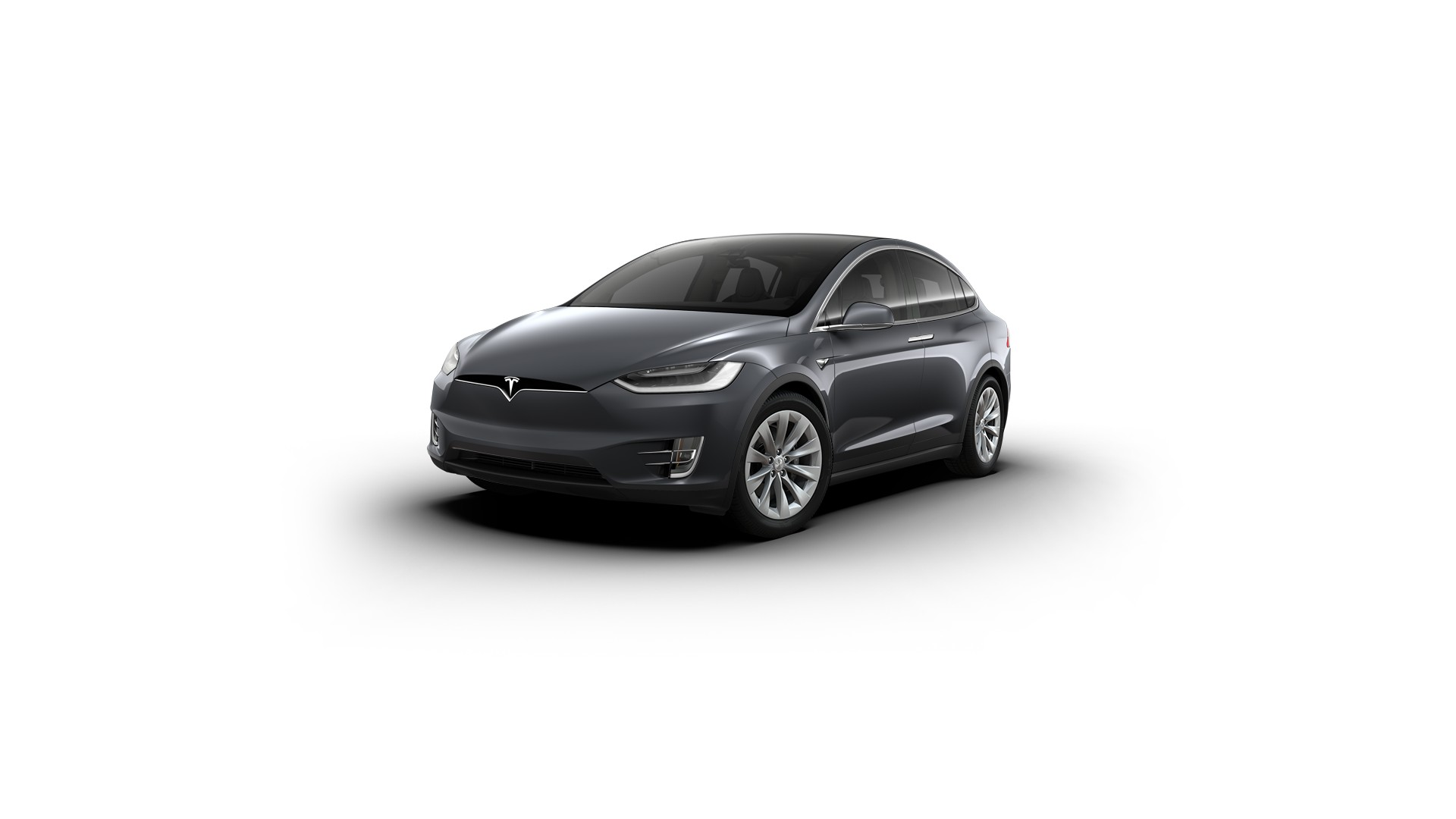 inventory tesla model x 75d Midnight Silver Metallic (New Grey)