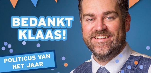 Klaas Dijkhoff - Politicus van het jaar 2018