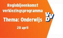 Regiobijeenkomst verkiezingsprogramma - thema Onderwijs