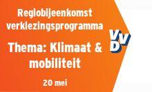 Regiobijeenkomst verkiezingsprogramma - thema Klimaat & mobiliteit