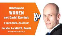 Debatavond WONEN met Daniel Koerhuis
