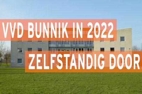 VVD Bunnik in 2022 zelfstandig door