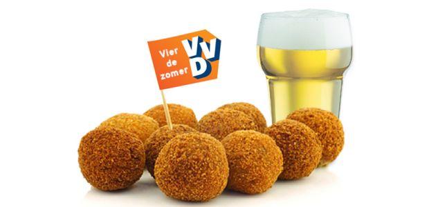 Vier de zomer met VVD Bunnik - bier en bitterballen