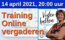 Digitale training Online vergaderen