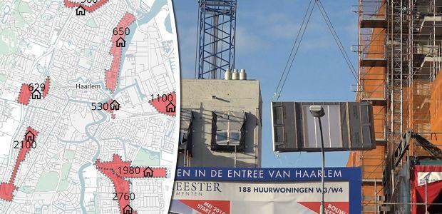 Woningbouw in Haarlem